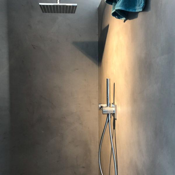 Dusche in Beton-Optik