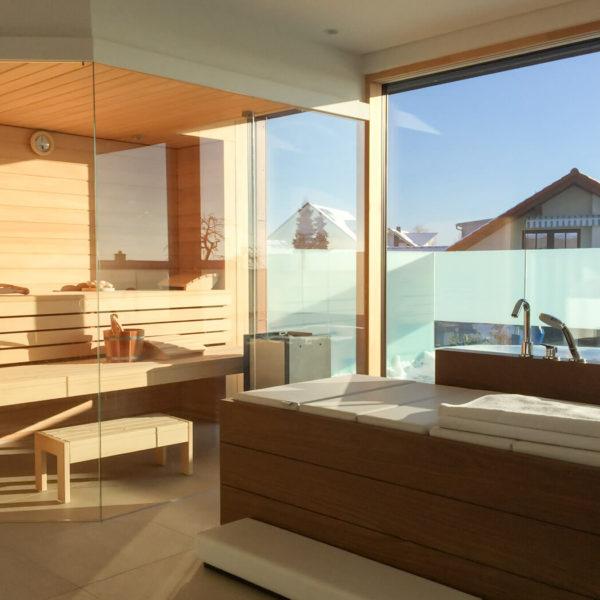 Bad mit Sauna