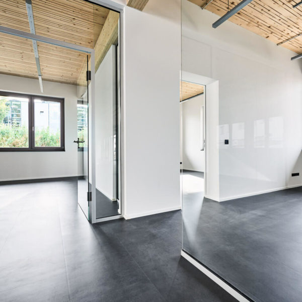Zugang abgetrennte Büros